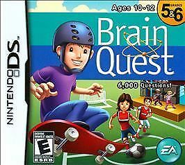 Brain Quest: Grades 5 & 6 - Nintendo DS by Electronic Arts