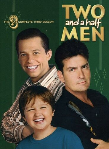 Two and a Half Men - The Complete Third Season (DVD, 2008, 4-Disc Set)