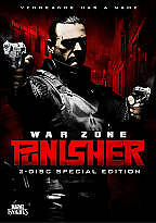 Punisher: War Zone (DVD, 2009, 2-Disc Set, Special Edition; Widescreen)