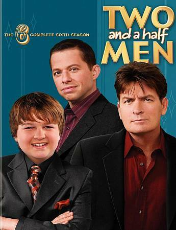 Two and a Half Men - The Complete Sixth Season (DVD, 2009, 4-Disc Set)