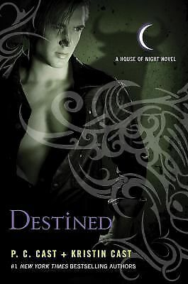 Destined 9 by P.C. Cast & Kristin Cast (2011, Hardcover) Full-Color Poster Cover