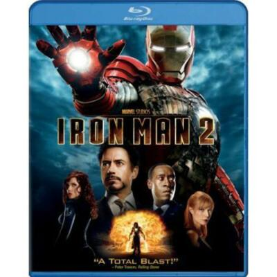 Iron Man 2 (Blu-ray Disc, 2010)