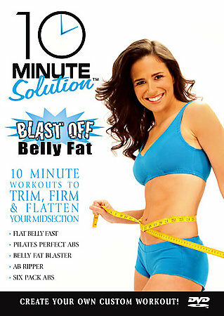 10 Minute Solution: Blast Off Belly Fat by Suzanne Bowen
