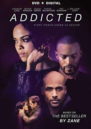 ADDICTED 2015 BORIS KODJOE DVD DIGITAL HD BRAND NEW FACTORY SEALED