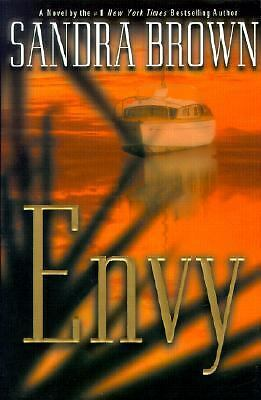 Envy by Sandra Brown (2001, Hardcover)