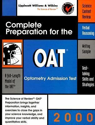 Complete Preparation for the OAT 2000: Optometry College Admissions Test (Pre-m