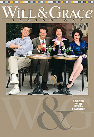 LIKE NEW: Will & Grace - Complete First Season  (DVD, 2003, 4-Disc BOX SET)