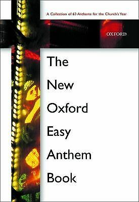The New Oxford Easy Anthem Book: Voice Sheet Music: