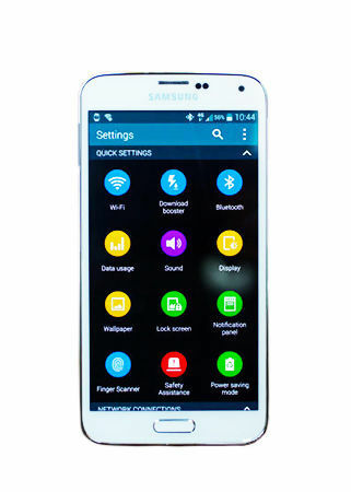 Samsung Galaxy S5 SM-G900T - 16GB - Shimmery White (T-Mobile) Smartphone