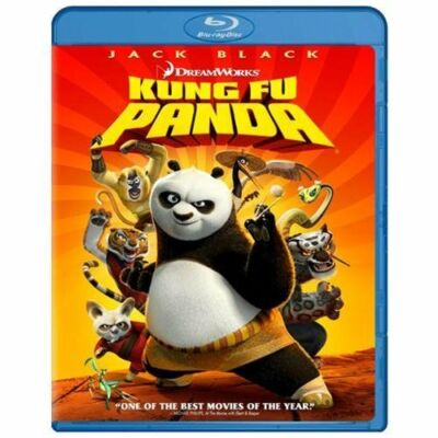 Kung Fu Panda (Blu-ray Disc, 2008, Widescreen)