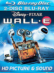 Wall-E (Blu-ray Disc, 2008, 2-Disc Set, Widescreen)