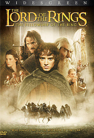 The Lord of the Rings: The Fellowship of the Ring (DVD, 2002)