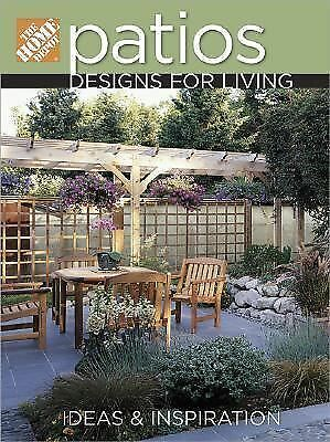 Home Depot Book - Patios  - Used - Trade Paper (Paperback)