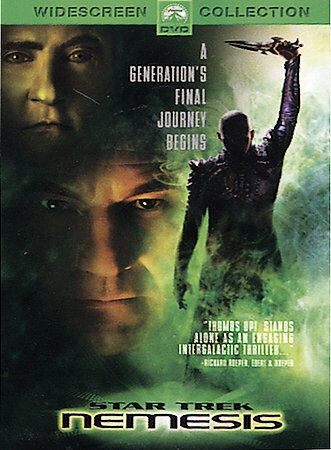 Star Trek: Nemesis  Widescreen DVD