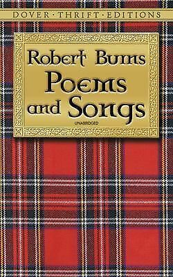 Robert Burns - Poems and Songs