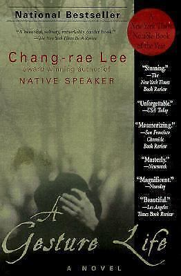 A Gesture Life, a novel by Chang-rae Lee