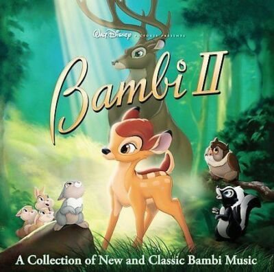 WALT DISNEY BAMBI II~A COLLECTION OF NEW AND CLASSIC BAMBI MUSIC~CD~EUC~