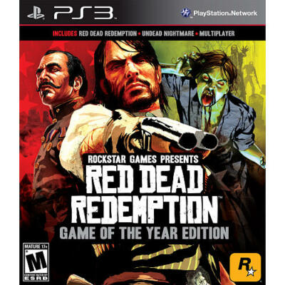 Red Dead Redemption Game of the Year Edition Greatest Hits PlayStation 3 PS3