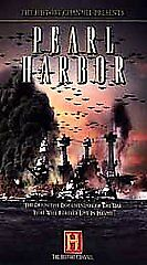 The History Channel Presents Pearl Harbor [VHS], Good VHS, ,