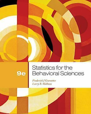 Statistics for the Behavior Sciences 9th Edition - Gravitater Wallnau (e-BOOK)