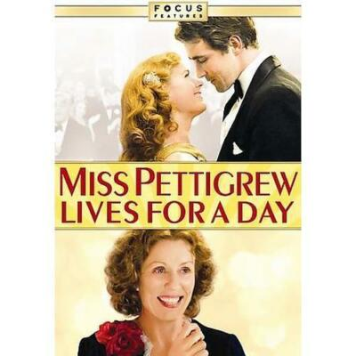 Miss Pettigrew Lives for a Day (Widescreen & Full Screen Edition), Good DVD, Chr