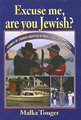 Excuse Me, Are You Jewish?  New Book in Plastic Pouch