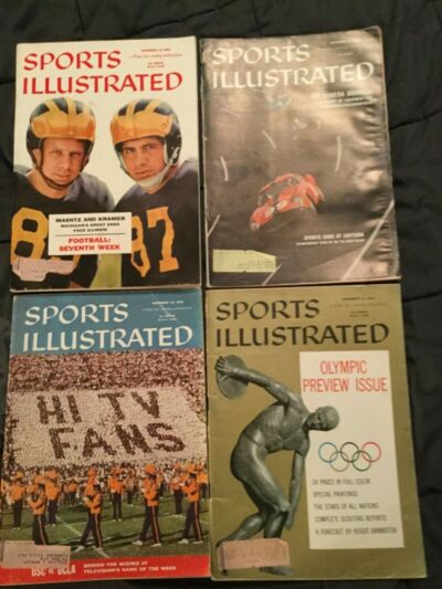 Sports Illustrated - November 1956 - 4 different issues