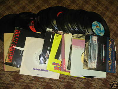 95 different 45 RPM Records from Rock era!  $2 each