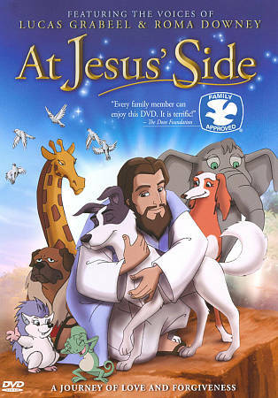 -= At Jesus' Side - Christian DVD - Animated - Roma Downey =-
