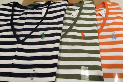 POLO RALPH LAUREN WOMEN'S V-NECK T-SHIRTS NWT