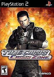 PS2 Time Crisis: Crisis Zone  Video Game 2006 COMPLETE