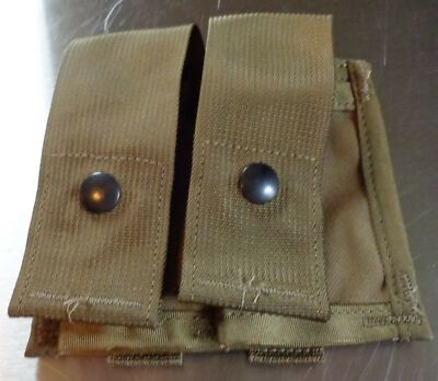 NEW MOLLE II 40MM  Pocket Double Tan Camouflage