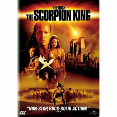 The Scorpion King The Rock (DVD, 2002, Widescreen) Collectors Edition