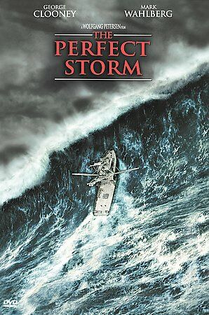 The Perfect Storm (DVD, 2000) George Clooney  Mark Wahlberg  Diane Lane