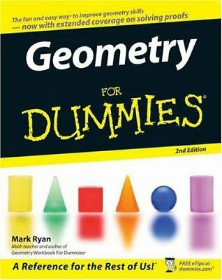 Geometry for Dummies (with workbook) paperback