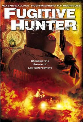 DVD Fugitive Hunter Action, Adventure Movie Wayne Wallace Roger Clark~LkNw