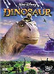 DVD Dinosaur Walt Disney Cartoon Animated Ralph Zondag Eric Leighton Live Action