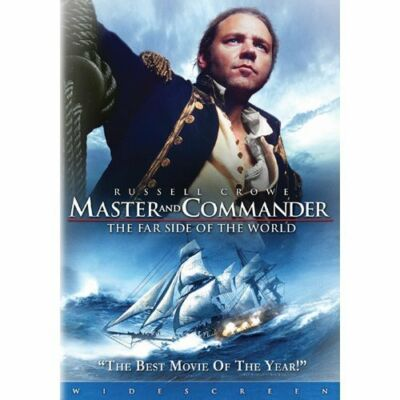 Master and Commander The Far Side of the World DVD 2004 FullScreen Russell Crowe