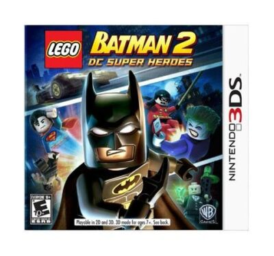 LEGO Batman 2: DC Super Heroes  (Nintendo 3DS, 2012)
