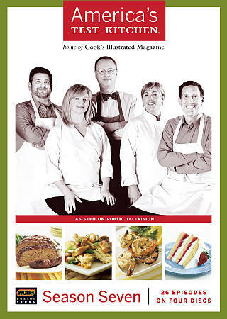 America's Test Kitchen: The Complete 7th Season (DVD, 2010, 4-Disc Set)