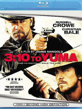 -= 3:10 to Yuma Blu-ray - Russell Crowe, Christian Bale western - new! =-