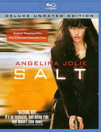 -= Salt - Blu-ray Unrated - Angelina Jolie - brand new! =-