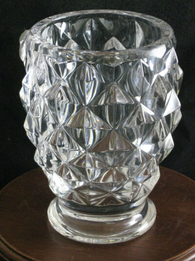 Royal Limited Crystal Vase Made In Czech Republic