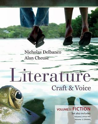 Literature: Craft and Voice by Nicholas Delbanco,  3-Volume Set. 2009, Paper