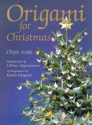 Origami for Christmas by Chiyo Araki 1987 Paperback + Special Origami Paper