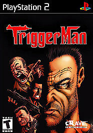 PS2 Trigger Man Shooter, Third-Person Playstation 2 Game Complete w/ Manual