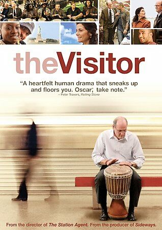DVD Visitor the~Richard Jenkins, Haaz Sleiman, Hiam Abbass MOVIE~LkNew FastShip