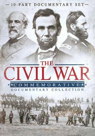 THE CIVIL WAR COMMEMORATIVE DOCUMENTARY COLLECTION - NEW DVD BOXSET