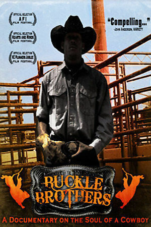 DVD Buckle Brothers~Marquette Williams Film Rodeo Movie Ronald Jennings Jr~LkNw