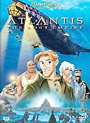 DVD Atlantis The Lost Empire Disney Kids Movie Animated~Kirk Wise Gary Trousdale